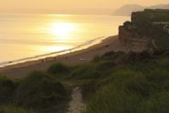 Coast Path Sunset