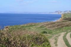 Coast Path above Hive Beach