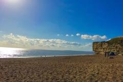 Hive Beach in the Sunshine
