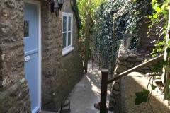 Lilac Cottage Back Door